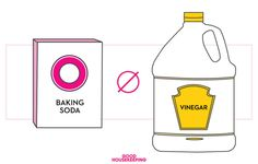 Skip baking soda and vinegar cleaners. When you mix them together they make mostly water!