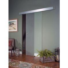 Opaque Glass Barn Door (30x80) | Overstock.com Shopping - The Best Deals on Doors