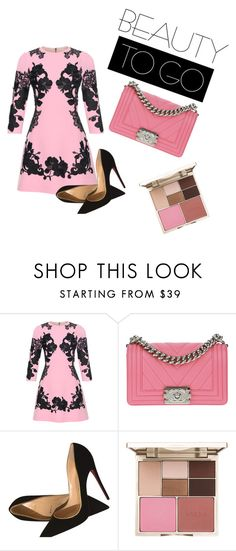 """Untitled #51"" by amela-besic ❤ liked on Polyvore featuring Dolce&Gabbana, Chanel, Christian Louboutin and Stila"