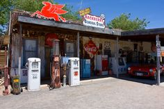 Route 66  Stopped here and met the owner, really neat place