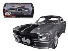 """1967 Ford Mustang Custom """"Eleanor"""" Gone in 60 Seconds Movie (2000 ) 1/18 Diecast Car Model by Greenlight - Brand new 1:18 scale diecast car model of 1967 Ford Mustang Custom """"Eleanor"""" Gone in 60 Seconds Movie (2000 ) die cast car model by Greenlight. Customized, movie themed packaging. Serialized chassis. Brand new box. Rubber tires. Has steerable wheels. Made of diecast metal. Has opening hood, doors and trunk. Detailed interior, exterior, engine compartment. Dimensions approximately…"""