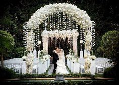 white wedding flowers | flower arrangements | Pinterest | White wedding flowers Gatsby wedding and Gatsby : outside wedding decoration ideas for ceremony - www.pureclipart.com