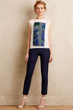 High-Rise Charlie Trousers - anthropologie.com