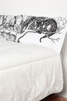Alice Tea Party Pillowcase - Set Of 2