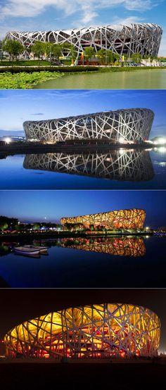 Bird's Nest Stadio Nazionale di Pechino