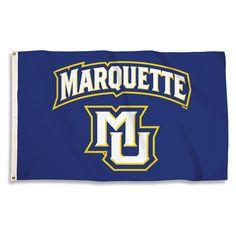 Marquette Golden Eagles Team Spirit Flag