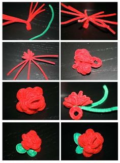 how to make stuff with pipe cleaners