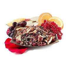 Youthberry Wild Orange Blossom Tea Blend ---  Reinvigorate your life with this delicious blend of white and herbal teas. This blend combines Youthberry white tea with Wild Orange Blossom herbal tea for an explosion of pineapple citrus flavor. With the added punch of acai, red currants, and mango, this blend is sure to please the palate.  1-15 mg caffeine