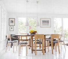 Nordic Home, Scandinavian Home, Scandinavian Interior, Dining Area, Kitchen Dining, Dining Table, Living Styles, Marimekko, Minimalist Living