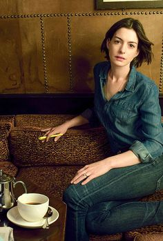 Anne Hathaway photographed for Vogue (May 2015)