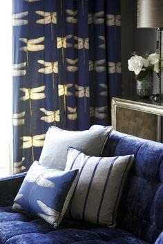 #Harlequin - collection Palmetto - tissu Demoiselle - Harlequin http://www.harlequin.uk.com/
