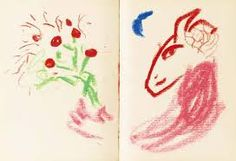 Marc Chagall's sketchbook