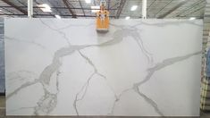 Epic Calacatta Top Natural Porcelain Slabs (approx 126x62x1/2)