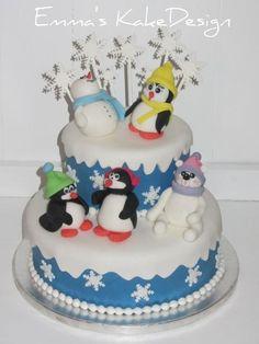 Emma's KakeDesign: Vinterkake