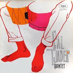 Cal Tjader Quintet, 1956. Cover art by Betty Brader.