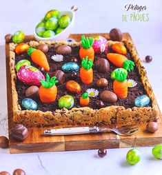 easter desserts for kids . easter desserts ideas for adults Easy Easter Desserts, Easter Recipes, Easter Ideas, Cookies Et Biscuits, Cooking Time, Cake Decorating, Deserts, Sweets, Eat