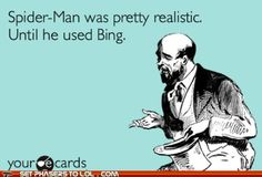 "Where ""The Amazing Spider-Man"" Really Fell Apart.  Seriously.   Who even uses Bing??"