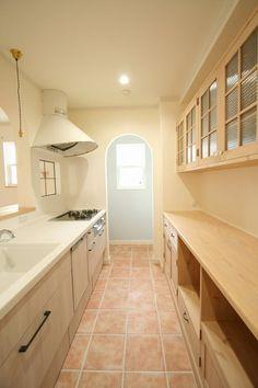 造作キッチンからシステムキッチンまで、こだわりがたくさんつまったキッチン #家#建築#工務店#住宅#インテリア#自然素材#住まい#一戸建て#キッチン