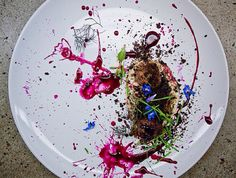 I want all my food to look like abstract paintings from now on //   Wolvesmouth: The Rise of the Secret Supper Club