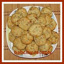Sušenky s nivou a ořechy | Babčiny recepty