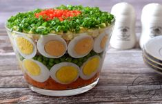 Sałatka z jajkami – Smaki na talerzu Cookie Recipes, Eggs, Cookies, Baking, Breakfast, Ethnic Recipes, Desserts, Food, Puddings