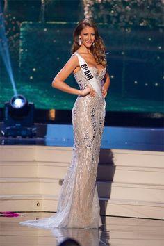Desire Cordero Ferrer, Miss Spain 2014 Evening Gown Dressy Dresses, Club Dresses, Miss Universe Dresses, Miss Pageant, Online Dress Shopping, Shopping Sites, Miss Dress, Celebrity Dresses, Celebrity Style
