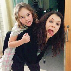 Orphan Black // Sarah & Kira Manning // Tatiana Maslany // Skyler Wexler