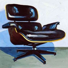 Interior - Painting - Eames Chair - Kelly Reemsten