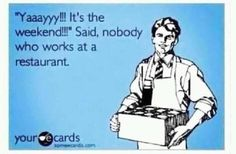 At least it's more money. Waitress Humor, Waitress Problems, Server Humor, Server Memes, Restaurant Humor, Restaurant Manager, Bartender Funny, Server Problems, Server Life