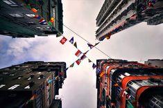 Vertical Perspective of Hong Kong's Immense Skyscrapers - My Modern Metropolis