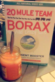 20 Mule Team Borax - cleaning tips  Link didn't work.  Try this one:  http://www.homesessive.com/view/25-household-uses-borax