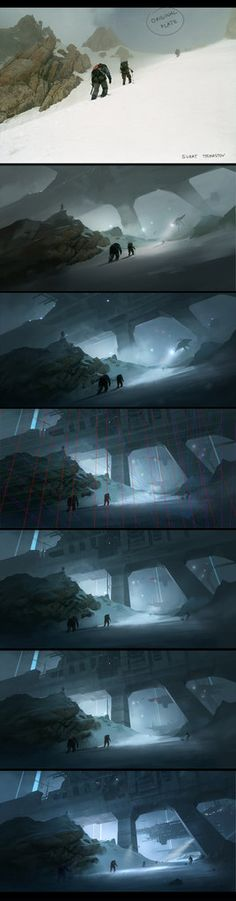 Jama Jurabaev: is an ambitious concept artist | Making of`s