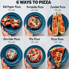 "Healthy Recipes Because who doesn't love pizza? Using your imagination recreating ""pizza"" while still getting in m - Health and Nutrition Healthy Food Swaps, Healthy Meal Prep, Healthy Snacks, Healthy Recipes, Healthy Food Options, Meal Recipes, Pizza Recipes, Paprika Pizza, Clean Eating Snacks"