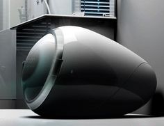Ovum - The concept of washing machine like a pebble