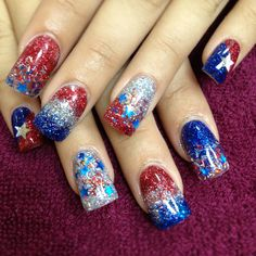 RockStar Nails by Christee 4th of July