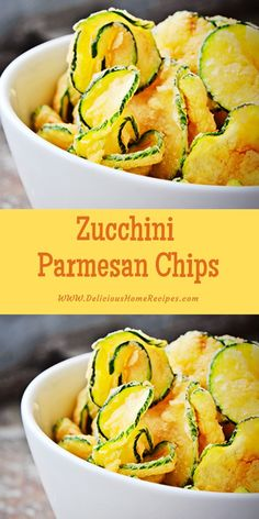 Zucchini Parmesan Chips – Delicious Home Recipes Gourmet Recipes, Low Carb Recipes, Appetizer Recipes, Snack Recipes, Cooking Recipes, Healthy Recipes, Zucchini Appetizers, Ninja Recipes, Simple Recipes