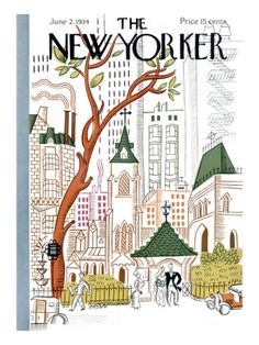 The New Yorker Cover - June 2, 1934 Premium Giclee Print