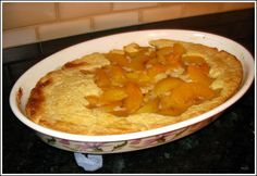 Salt Lick Peach Cobbler. I have made it delicious. I substituted berries for peaches. I think it is just as good as Salt Licks recipe.