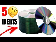 ARTESANATO COM CD E DVD   5 IDEIAS INCRÍVEIS COM CD - SHOW DE ARTESANATO - YouTube Cd Crafts, Handmade Crafts, Crafts For Kids, Tabletop Water Fountain, Diy Fountain, Diy Projects For Beginners, Easy Diy Projects, Woolen Flower, Cd Project