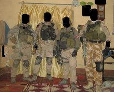 British SAS were doing missions in Iraq as part of Task Force Black.