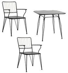 Iron chairs & table från Nordal hos ConfidentLiving.se