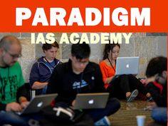 Paradigm academy: India's Best IAS Coaching Classe