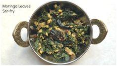 #moringa #drumstick leaves #stirfry #recipe #Indian way