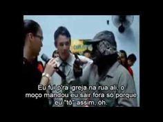 Mendigo bêbado canta na igreja e o fogo cai (LEGENDADO)