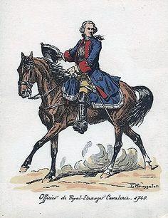 Si le Maître Rousselot fut un modèle pour des générations d'illustrateurs, il fut aussi et surtout un contributeur infatigable aux Carnets de La Sabretache qui réunissent un nombre incroyable de ses oeuvres. Voyez aussi : https://fr.pinterest.com/epinczondusel/cavalerie-fran%C3%A7aise-ancien-r%C3%A9gime/