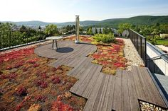 basic roof terrace with stunning view | adamchristopherdesign.co.uk