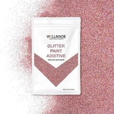 Rose holographic glitter paint additive 🤓@wellmadestudios #wellmadeglitter #diyglitter #glitteraddict Glitter Paint Additive, How To Varnish Wood, Holographic Glitter, Sparkle, Make It Yourself, Rose, Studios, Painting, Instagram