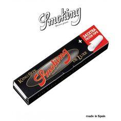 Smoking de luxe filters tip king size tütün sarma çarsafı