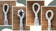Crochet Plant Hanger, Macrame Plant Hanger Patterns, Macrame Wall Hanging Diy, Macrame Patterns, Macrame Plant Hanger Diy, Macreme Plant Hanger, Macrame Design, Macrame Tutorial, Macrame Projects