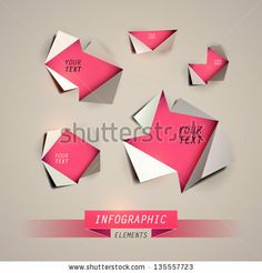 Vector Design template. Infographics element by BSSR, via ShutterStock